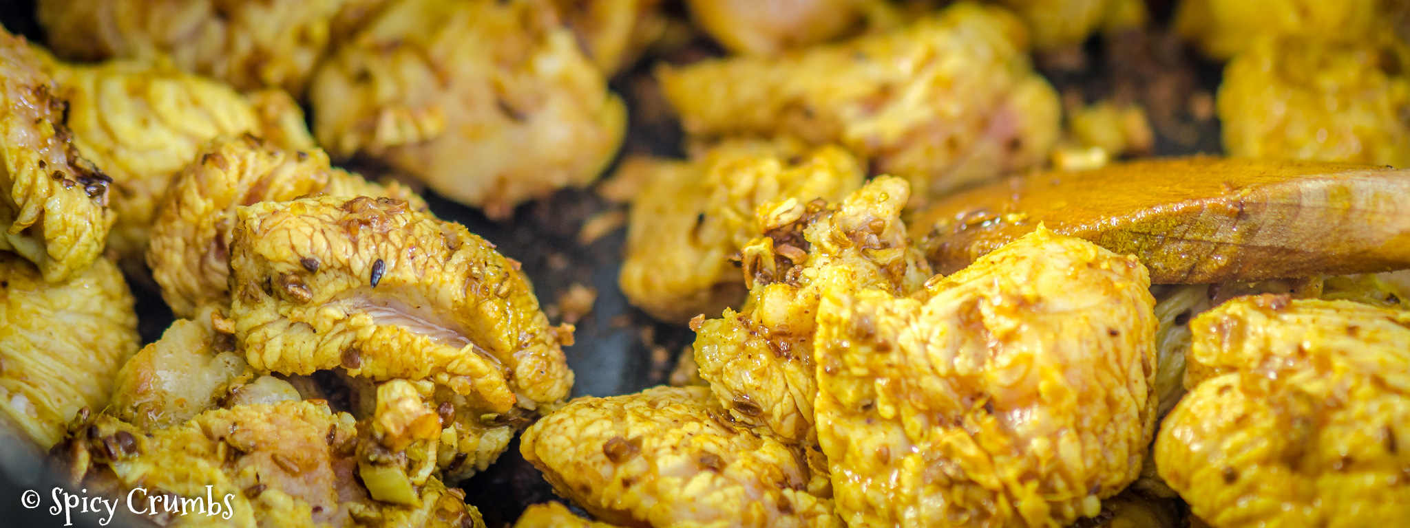 špenátové curry