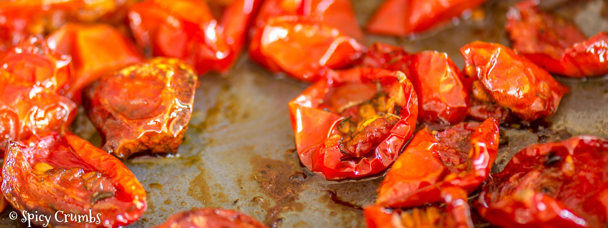 Pasta z pečených rajčat