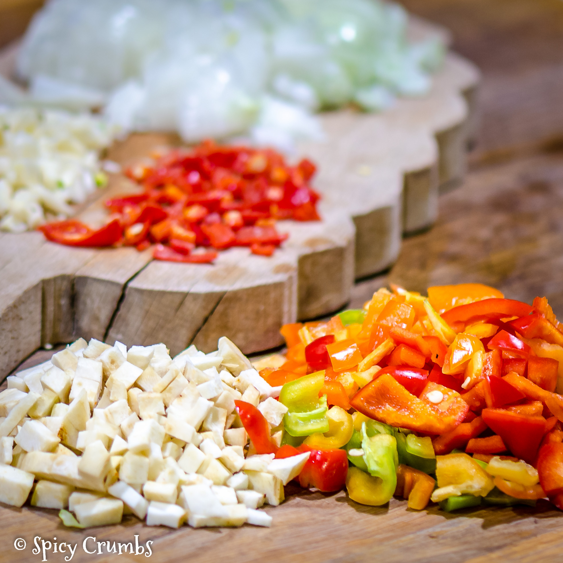 zeleninové chilli