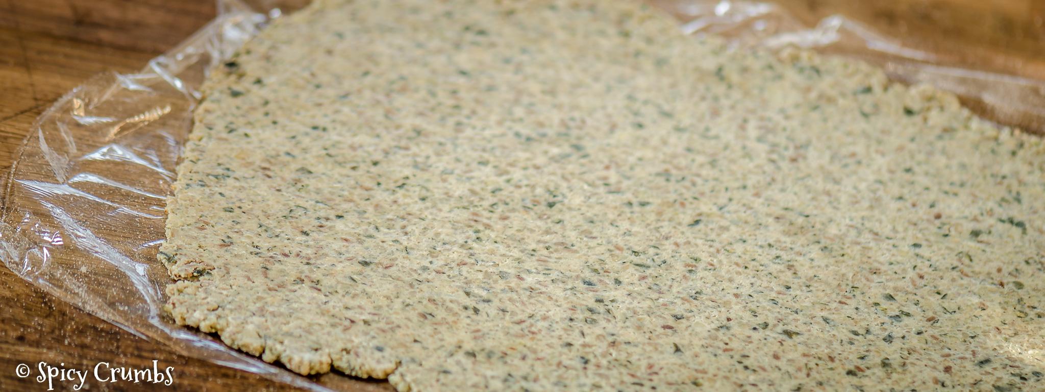 semínkové bezlepkové krekry